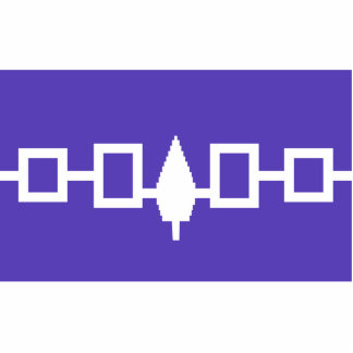 Iroquois Confederacy flag Cut Outs