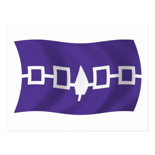 Iroquois Confederacy Flag Postcard