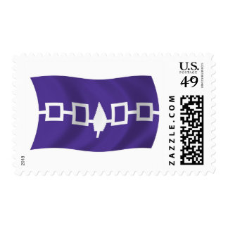 Iroquois Confederacy Flag Stamps