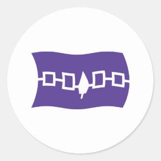 Iroquois Confederacy Flag Sticker