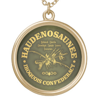 Iroquois Confederacy (Haudenosaunee) Gold Plated Necklace