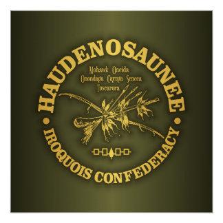 Iroquois Confederacy (Haudenosaunee) Poster