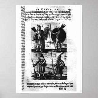 Iroquois de nueva Francia Posters