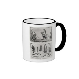 Iroquois family, arms and ornaments coffee mugs