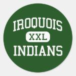 Iroquois - Indians - Junior - Des Plaines Illinois Sticker