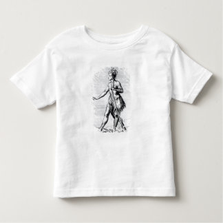 Iroquois Man, inhabitant of Canada Toddler T-shirt