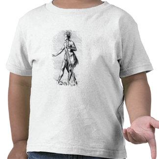 Iroquois Man, inhabitant of Canada Tshirts