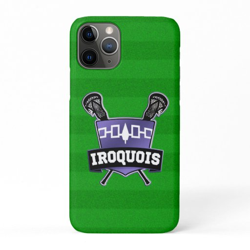 Iroquois Nation Lacrosse iPhone 11 Pro Case