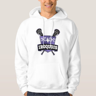 Iroquois Nation Lacrosse Hoodie Hooded Top