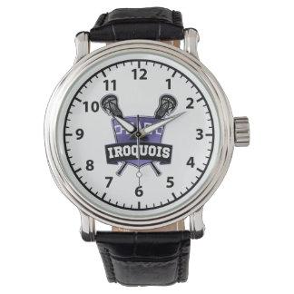 Iroquois Nation Lacrosse Wrist Watch
