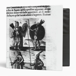Iroquois of New France Vinyl Binder