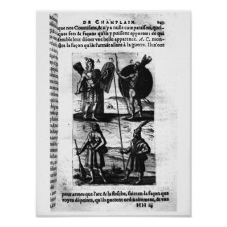 Iroquois of New France Poster