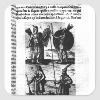 Iroquois of New France Square Sticker