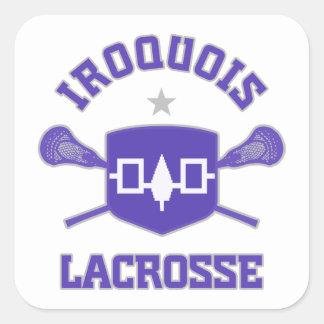 Iroquois Square Sticker