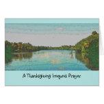 Iroquois thanksgiving greeting card
