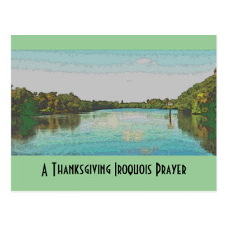 Iroquois thanksgiving post card