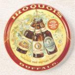 """Iroquois Vintage """"Beer Tray"""" Coaster - Buffalo, NY"""