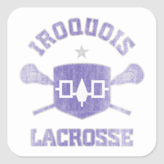 Iroquois-Vintage Square Sticker