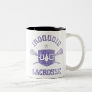 Iroquois-Vintage Two-Tone Coffee Mug