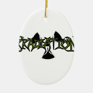 Irradiation Ceramic Ornament