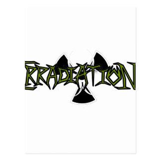 Irradiation Postcard