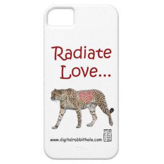 Irradie el amor… iPhone 5 funda