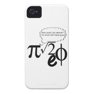 Irrational Buddies iPhone 4 Cover