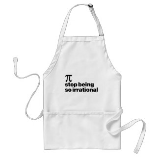 Irrational Pi Adult Apron