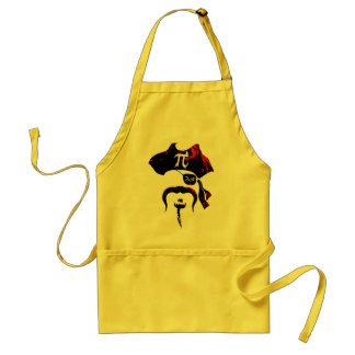 Irrational Pi Day Pirate Adult Apron