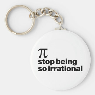 Irrational Pi Key Chain