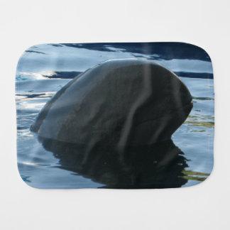 Irrawaddy Dolphin Peek-A-Boo Baby Burp Cloth