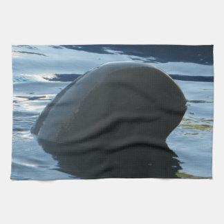 Irrawaddy Dolphin Peek-A-Boo Hand Towel