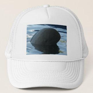 Irrawaddy Dolphin Peek-A-Boo Trucker Hat