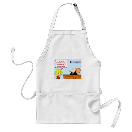 irreconcilable differences divorce aprons