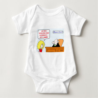 irreconcilable differences divorce baby bodysuit