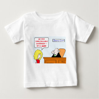irreconcilable differences divorce baby T-Shirt