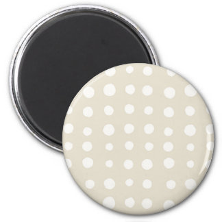 Irregular abstract retro modern blobs circles magnet
