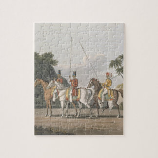 Irregular Cavalry, Bengal Army 1817, plate 5 from Jigsaw Puzzle