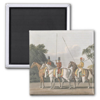 Irregular Cavalry, Bengal Army 1817, plate 5 from Magnet