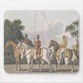 Irregular Cavalry, Bengal Army 1817, plate 5 from Mousepads