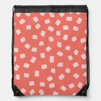 Irregular Dots Pattern Backpack