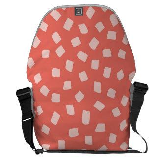 Irregular Dots Pattern Courier Bag