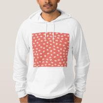 Irregular Dots Pattern Hoodie