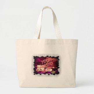 Irregular dots with fadeout jumbo tote bag