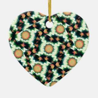 Irregular Geometric Pattern Ceramic Ornament