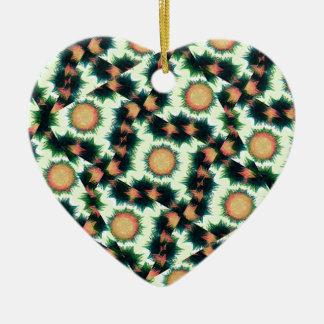 Irregular Geometric Pattern Christmas Ornament