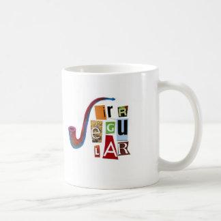 Irregular Classic White Coffee Mug