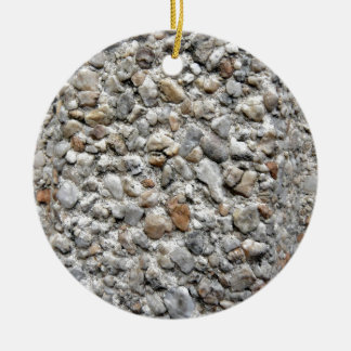 Irregular Pattern Of Different Size Stones Christmas Tree Ornament