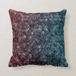 Irregular pattern throw pillow