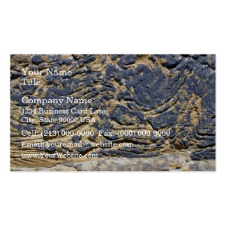 Irregular Rock Cliff Texture Business Card